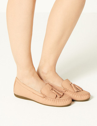 Marks and Spencer Suede Tassel Loafers