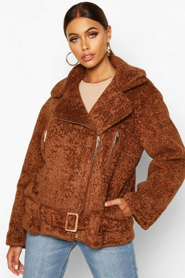 Premium Faux Fur Aviator