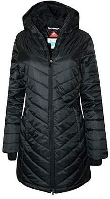 Columbia Women's Morning Light II Omni Heat Long Jacket Coat Puffer, (S)