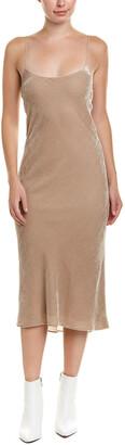 Tibi Velvet Silk-Blend Maxi Dress