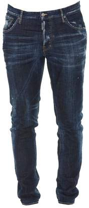 DSQUARED2 Ripped Slim Fit Jeans