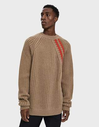 Jil Sander Long Sleeve Sweater in Medium Beige