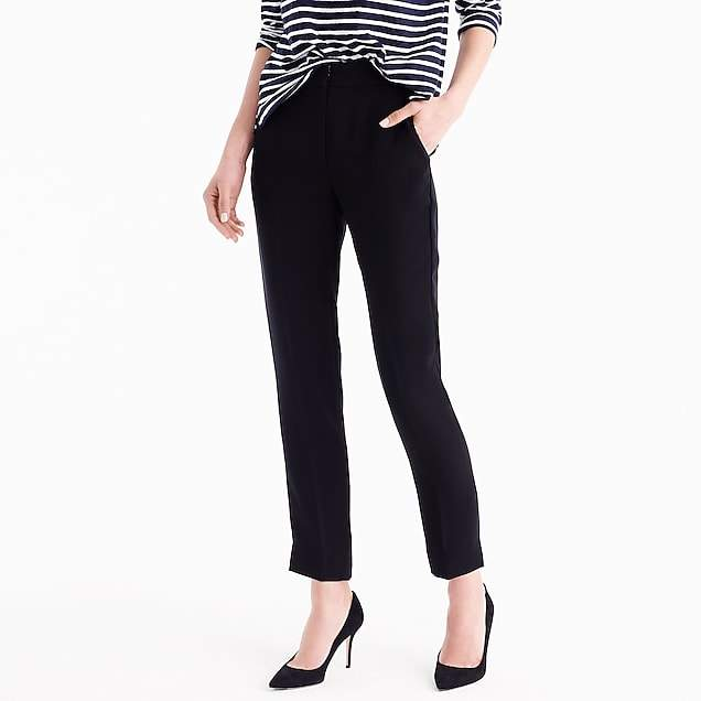Tall new easy pant in matte crepe