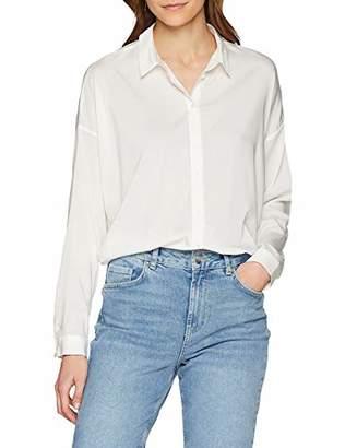296468ac2cd Vero Moda Women's Vmerika L/s Oversize Shirt Noos Blouse, (Snow White)