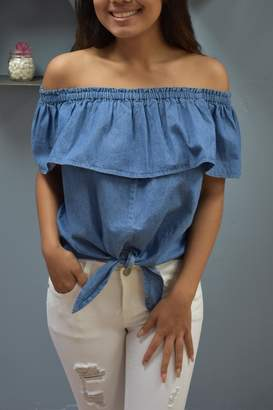 RD Style Dixie Denim Top