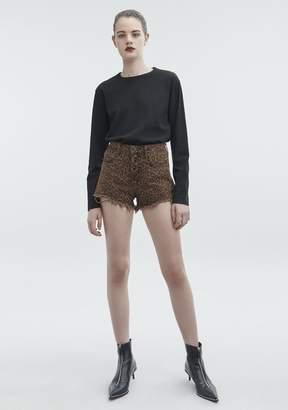 Alexander Wang Bite Cut-Off Denim Shorts