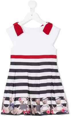 Lapin House striped bear dress