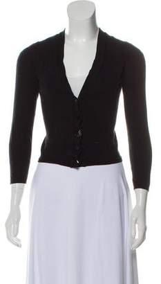 Saint Laurent Wool Knit Cardigan
