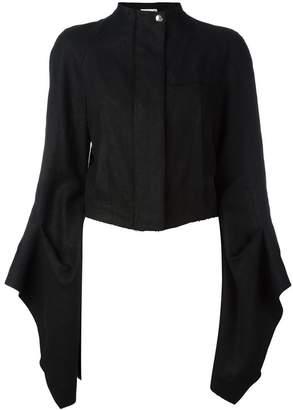Loewe extra longsleeves cropped jacket