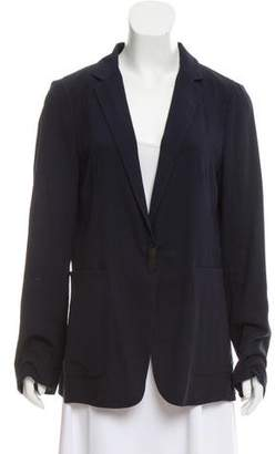 Brunello Cucinelli Notch-Lapel Lightweight Jacket