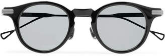 Native Sons Orwell Round-Frame Acetate And Gunmetal-Tone Sunglasses