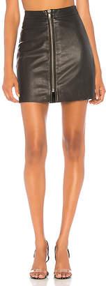 One Teaspoon Vixen Leather Skirt