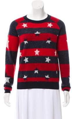 The Kooples Sport Striped Knit Sweater