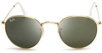 Ray-Ban Unisex Round Sunglasses, 50mm