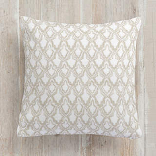 Brushed Casablanca Square Pillow