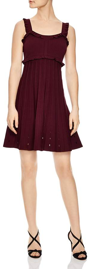 Silvi Eyelet-Detail A-Line Dress