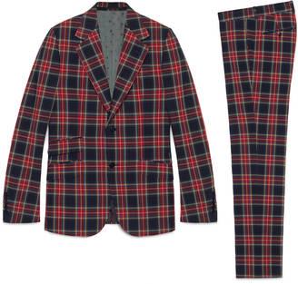 Heritage tartan suit $2,770 thestylecure.com