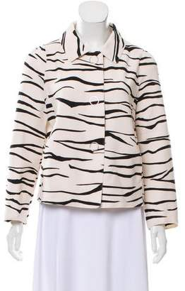 Marc Cain Animal Printed Lightweight Jacket w/ Tags