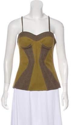 Proenza Schouler Sleeveless Wool Top