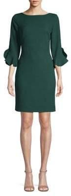 Karl Lagerfeld Paris Ruffle Tulip Sleeve Dress
