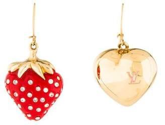 Louis Vuitton Fraises Earrings