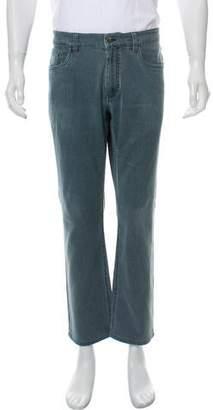 Loro Piana Cropped Straight-Leg Jeans