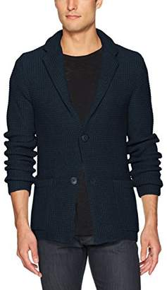 Armani Exchange A|X Men's Slim Fit Knit Sweater Blazer