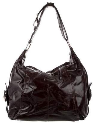 Tod's Patent Leather Hobo Bag