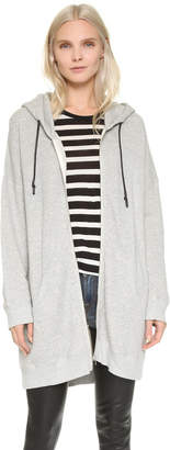 R 13 Long Hooded Sweatshirt
