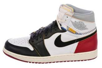 Nike Jordan x Union 1 Retro High Black Toe Sneakers w/ Tags