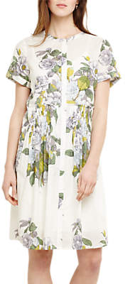 Phase Eight Samara Floral Dress, Ivory/Multi