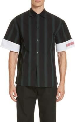 Calvin Klein Contrast Cuff Shirt