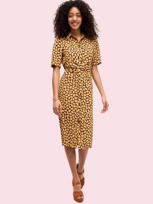 Kate Spade sunny bloom shirtdress