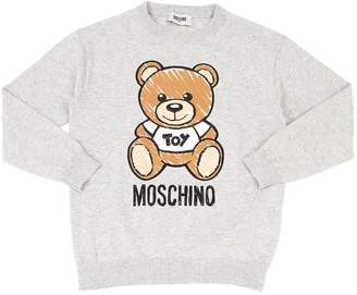 Moschino Cotton Knit Sweater