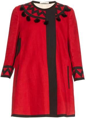 VITA KIN Mira tassel-embellished linen coat