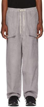 Perks And Mini Grey Corduroy Return Trousers