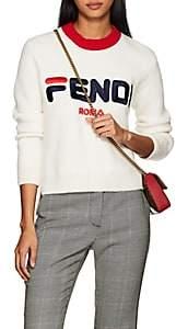 Fendi Women's Mania Crewneck Sweater - White