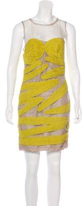 Yigal Azrouel Sleeveless Knee-Length Dress