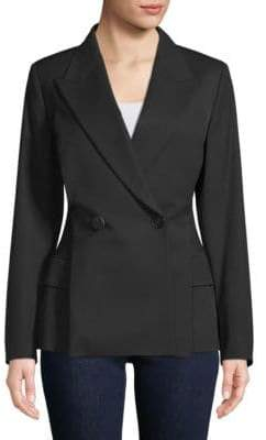 Lanvin Double-breasted Wool Blazer