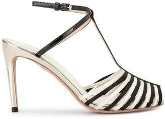 Giambattista Valli contrast open-toe sandals