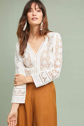 Anthropologie Tracy Reese x Blaine Textured Blouse
