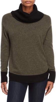 Sofia Cashmere Tipped Cashmere Sweater