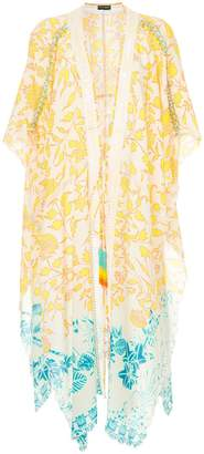 Hemant And Nandita floral print cover-up