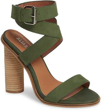 c444a39a2bc1 Green Cross Strap Heels - ShopStyle