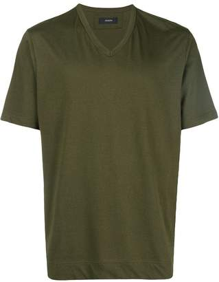 Joseph v neck mercerized jersey T-shirt