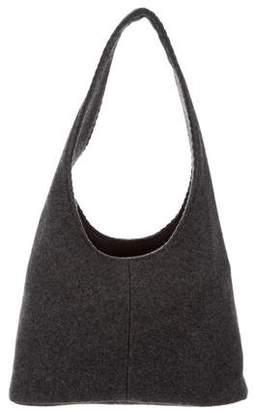 Miu Miu Felt Shoulder Bag