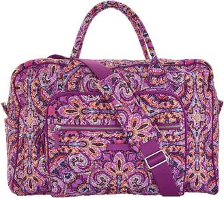 Vera Bradley Iconic Signature Weekender Travel Bag