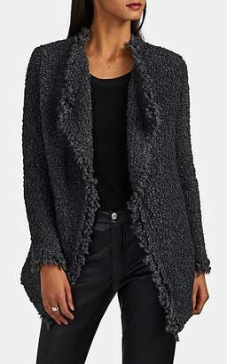 IRO Women's Campbell Bouclé Open-Front Jacket - Dark Gray
