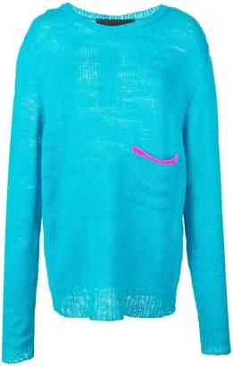 The Elder Statesman cashmere loose knit sweater