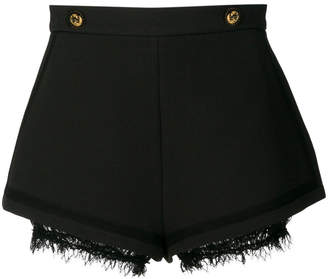 Elisabetta Franchi high-waisted lace detail shorts